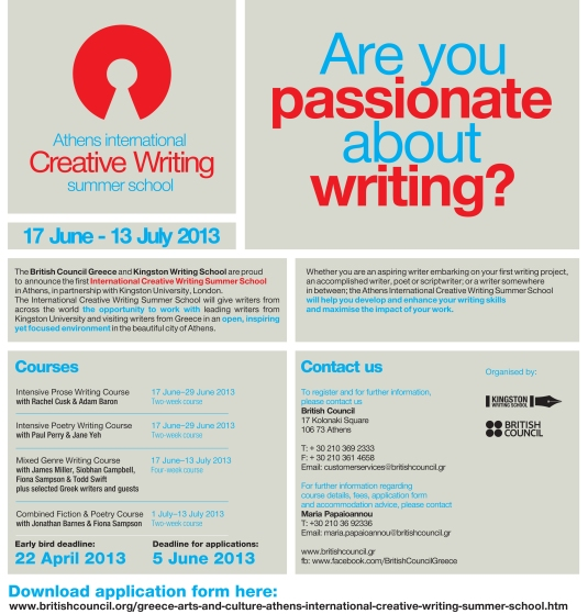 Athens International Creative Writing School