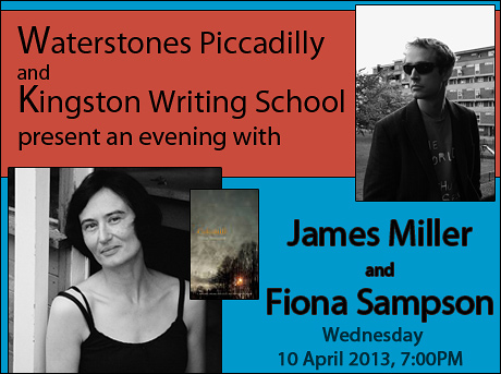 An Evening with Fiona Sampson & James Miller